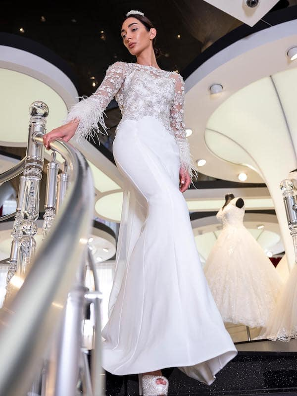 Braut-Kleider mit Ärmeln