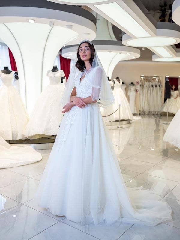 grosse Auswahl an Braut